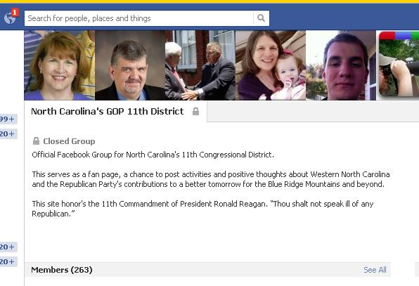 fb banned from nc11